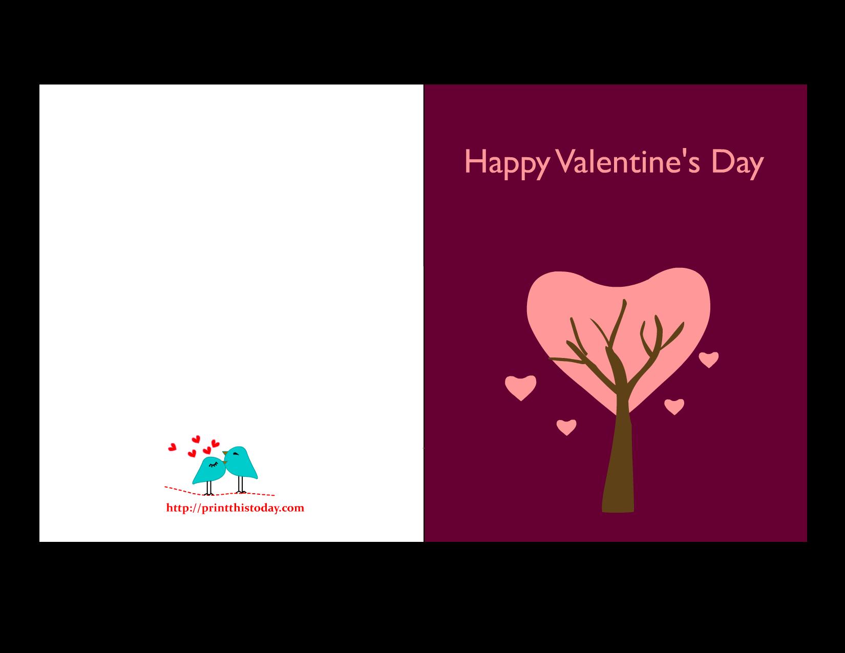 Valentine Cards to print – Valentine Cards to Print