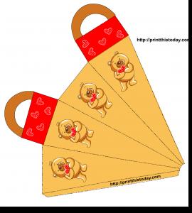 Teddy Bear favor Bag