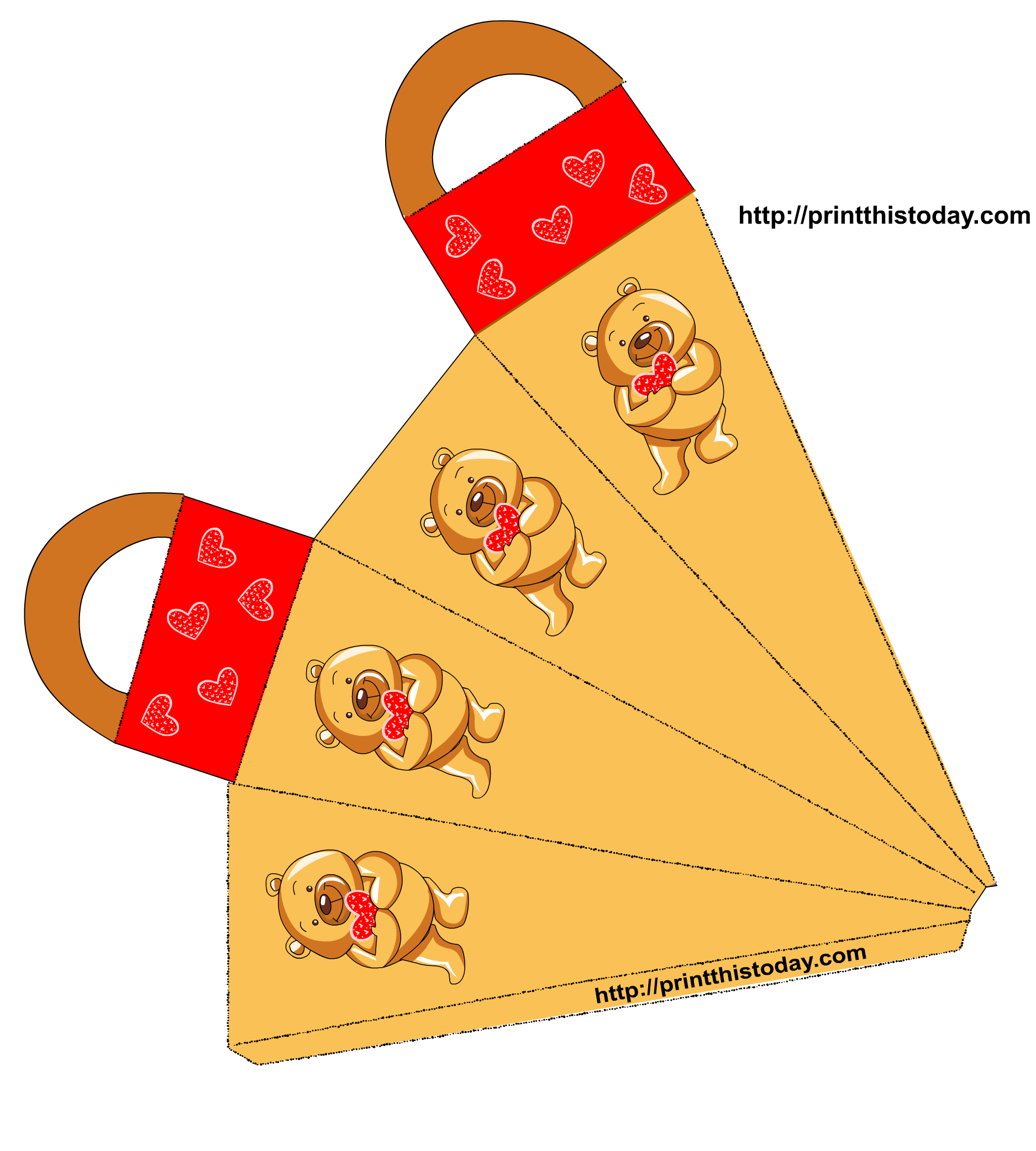 Teddy Bear Favor Bags