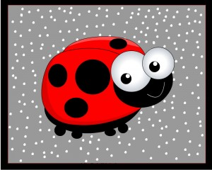 PlaceMats with Ladybug