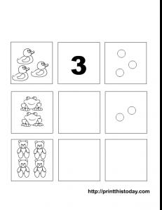 numbers 1-5 maths worksheet