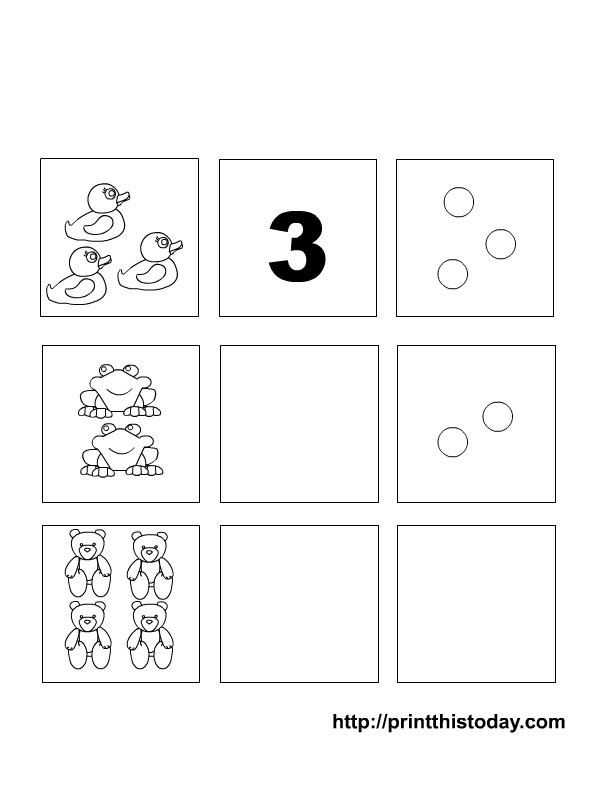 Writing and Counting Numbers 15 Preschool Maths Worksheets – Numbers 1-5 Worksheets Kindergarten