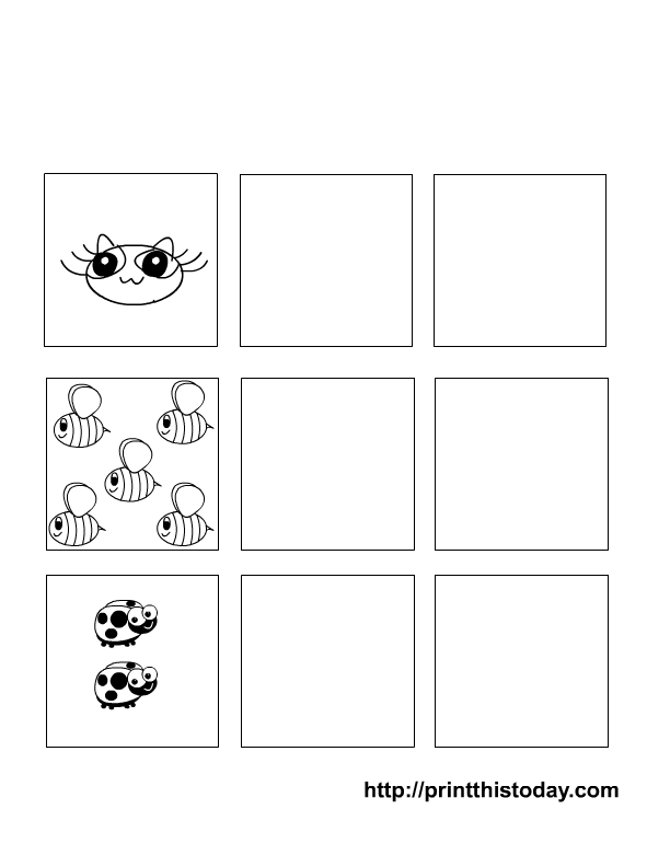 Writing and Counting Numbers 1-5 Preschool Maths Worksheets