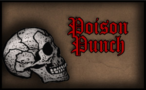 Poison punch-free printable halloween drink label