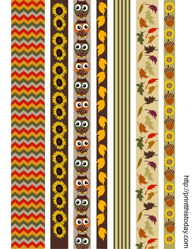 It's just a picture of Vibrant Printable Washi Tape