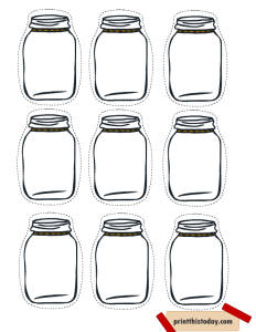 Free Printable Mason Jar Tags for Homemade products