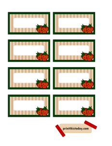 Jar Labels featuring Strawberries
