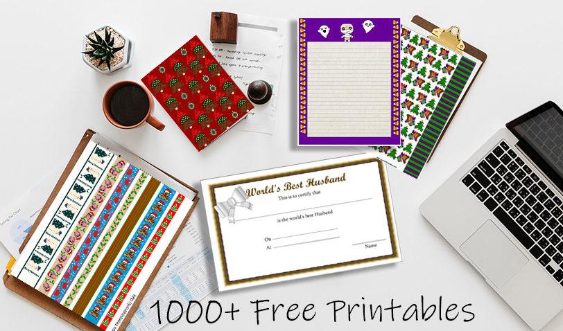 Printthistoday.com More than 1000 free printables