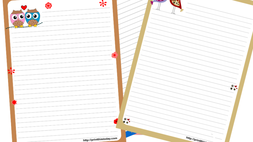 Free Printable Stationery