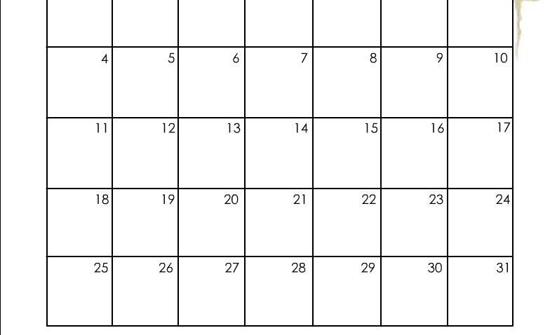 Calendar Printable for December 2022